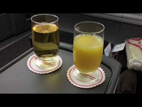 Kenya Airways Business Class on 787 Dreamliner- Nairobi to Paris; July 17, 2016