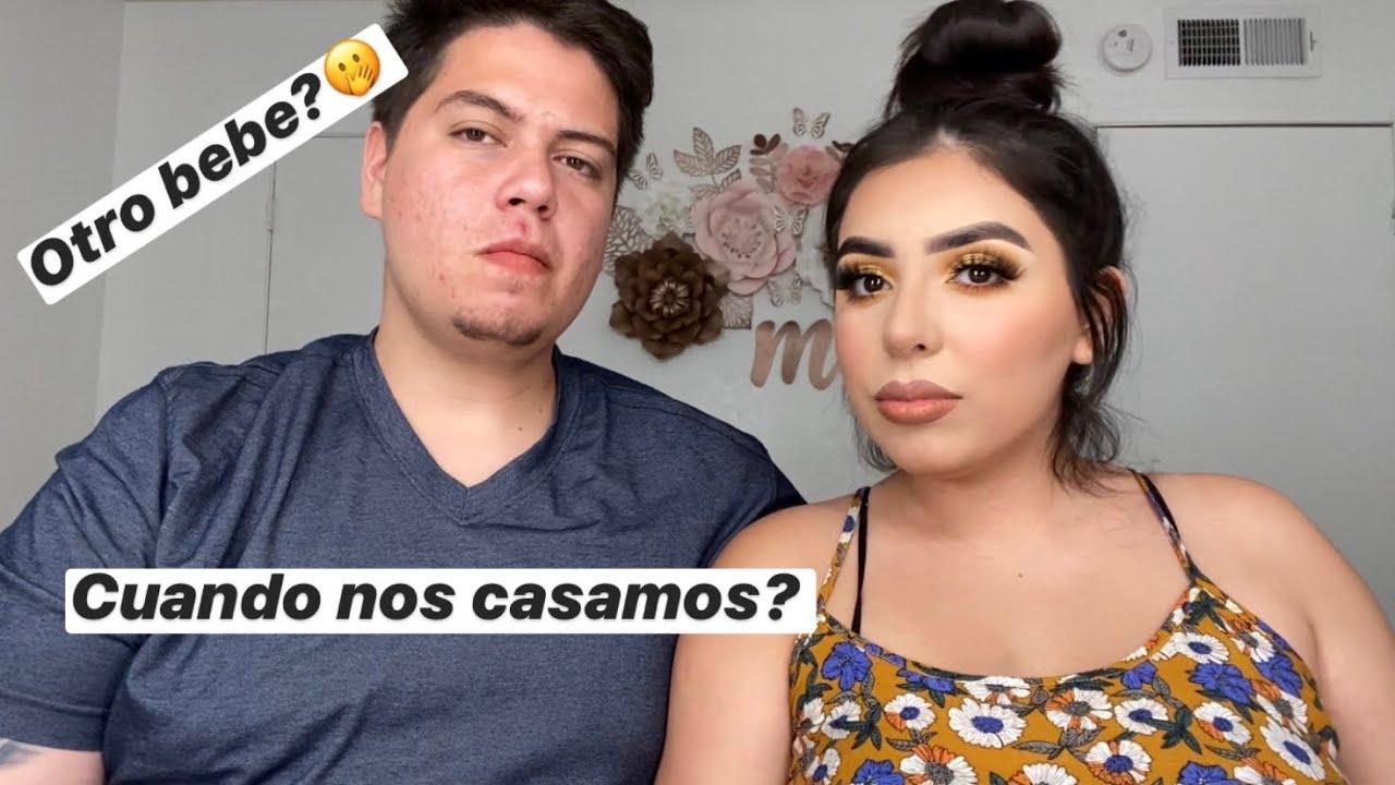 PREGUNTAS Y RESPUESTAS CON MI NOVIO | MELANIE SALAS
