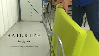 How to Sew a Curved Seat Back Cushion