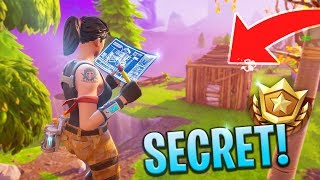 *NEW* SECRET LOOT LOCATION - Fortnite: Battle Royale