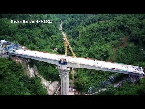 Jembatan Beton Tertinggi Proyek KERETA CEPAT Jakarta Bandung Dan Terowongan Terpanjang Proyek KCIC
