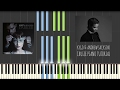 Kygo Cruise Feat Andrew Jackson PIANO TUTORIAL SHEET MUSIC Fifty Shades Darker mp3