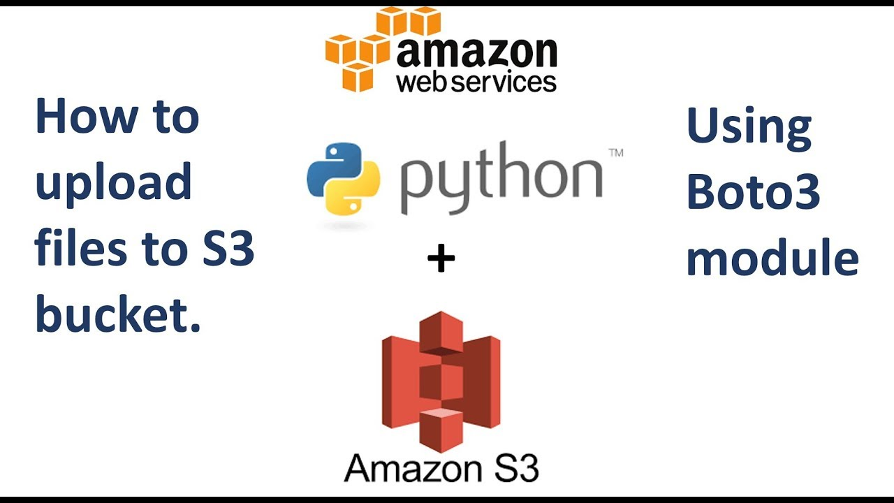 How to Upload files to AWS S3 using Python and Boto3