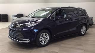 2021 Toyota Sienna Hybrid Limi…