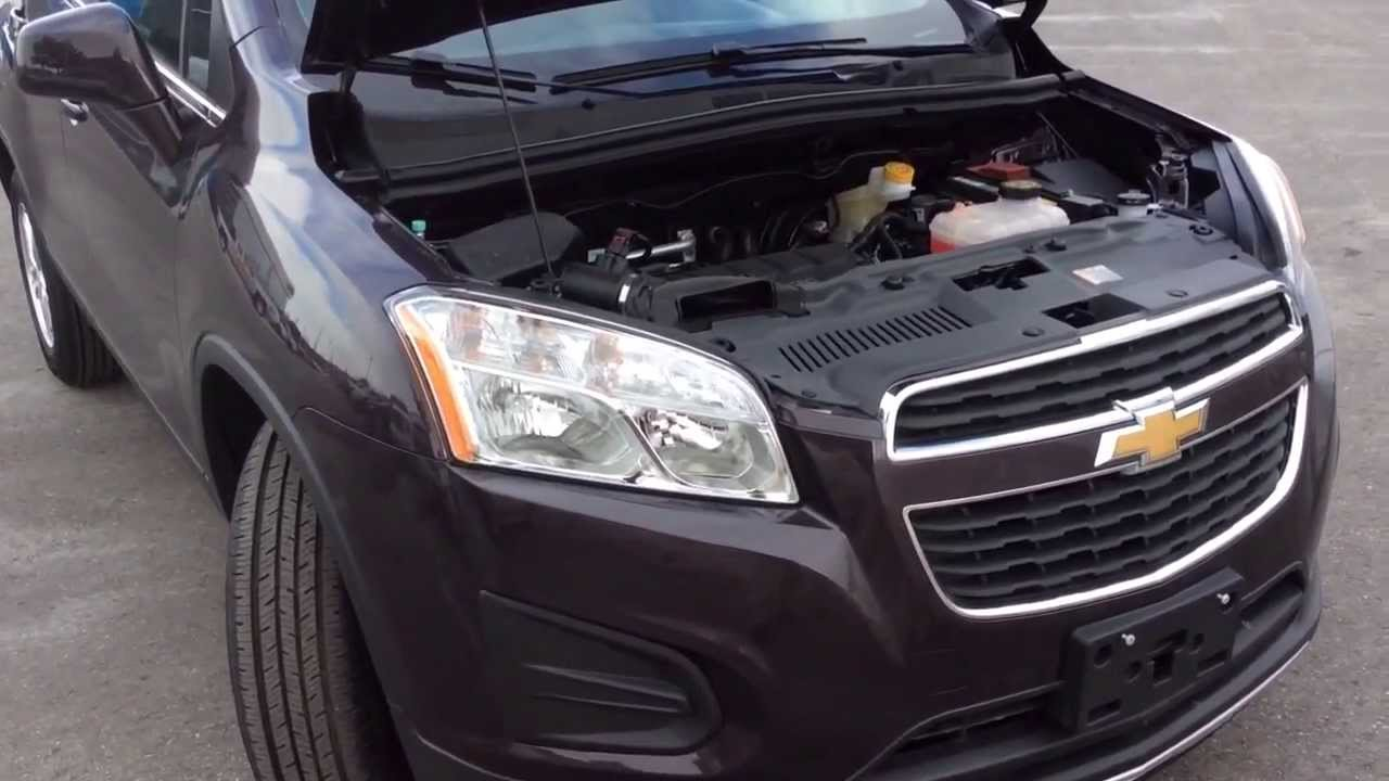 2014 Chevrolet Trax LT Review Plumberry ST140207