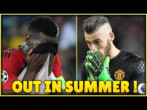 (TOP 5) Players MAN UTD Could SELL In Summer 2019 | TRANSFER NEWS ft. Pogba & De Gea