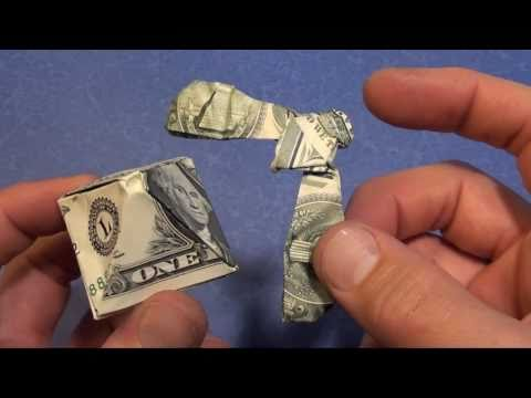 Fold A $1 Dollar  Balancing Eagle! By Jeremy Shafer