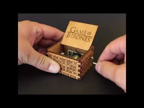 ▶😱😱Boite à musique Game of Throne, Idée Fan💝cadeau