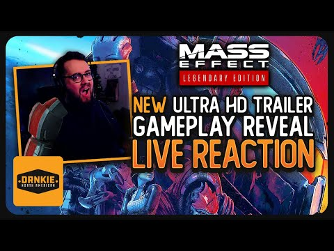 Mass Effect Legendary Edition: Gameplay Trailer Reaction | Ultra 4k HD, 40 DLCs Included, Remastered |