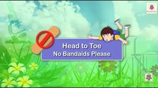 No Bandaids Please | Safety Rules For Children on Road, in Bus, in School and While Playing