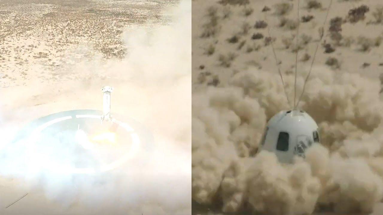 Blue Origin Milik Jeff Bezos Berhasil Luncurkan New Shephard ke Udara