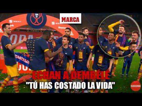 """Echan a Dembélé de una foto con jugadores de La Masía: """"¿Tú? Que tú has costado la vida"""" I MARCA"""
