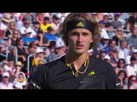 Alexander Zverev stuns Roger Federer in final to win Montreal Masters title