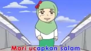 Cerita dan Lagu Anak Islam Ucapkan Salam mp4