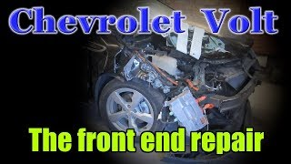 Chevrolet Volt. The front end repair. Ремонт переда.