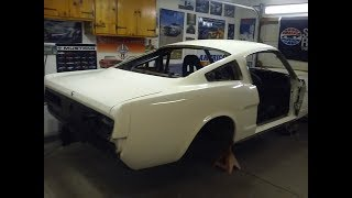 1965 Mustang Fastback Restoration progress part 2