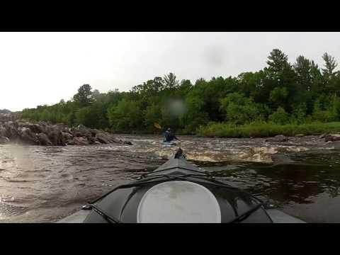 kayaking trip black river wi