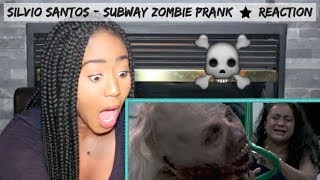 *SCARY* Subway Zombie Prank (Zumbis no Metrô) by Silvio Santos | REACTION