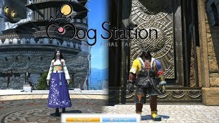 FFXIV: Tidus & Yuna Outfits on The Mogstation!