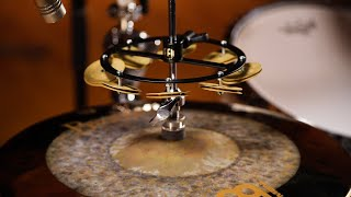 Benny Greb Artist Series Hihat Tambourine by Meinl Cymbals HTHHBG