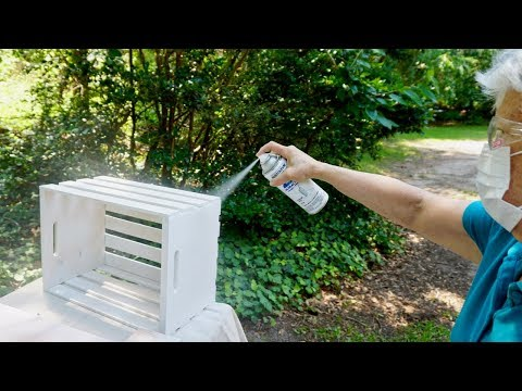 Spray Painting for 2 minutes