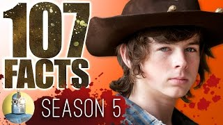 107 Walking Dead Season 5 Facts YOU Should Know (Cinematica)