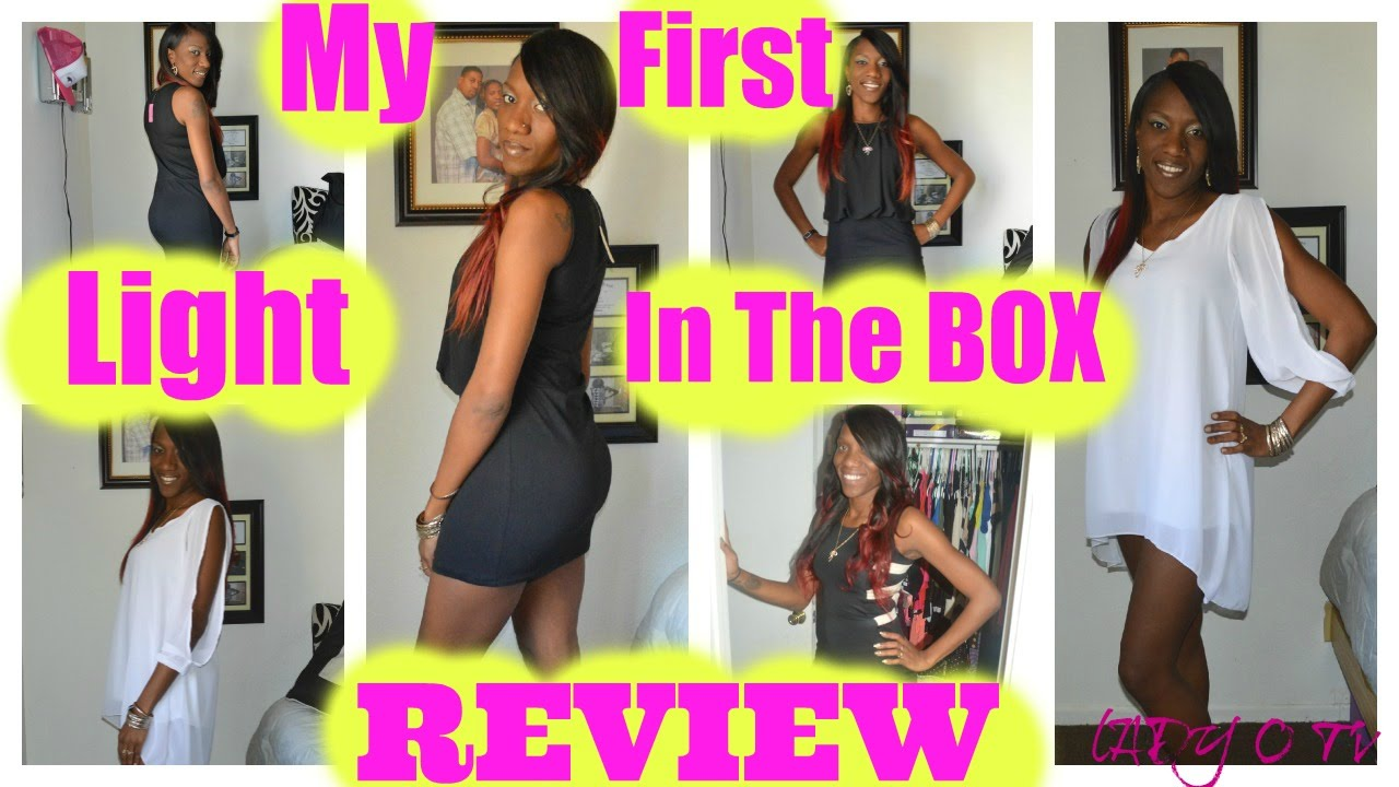 Captivating My First Light In The Box Review   YouTube Ideas