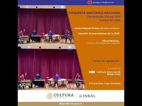Khachaturian, Danza del Sable de Gayane / Sección de percusiones / Orquesta Sinfónica Nacional