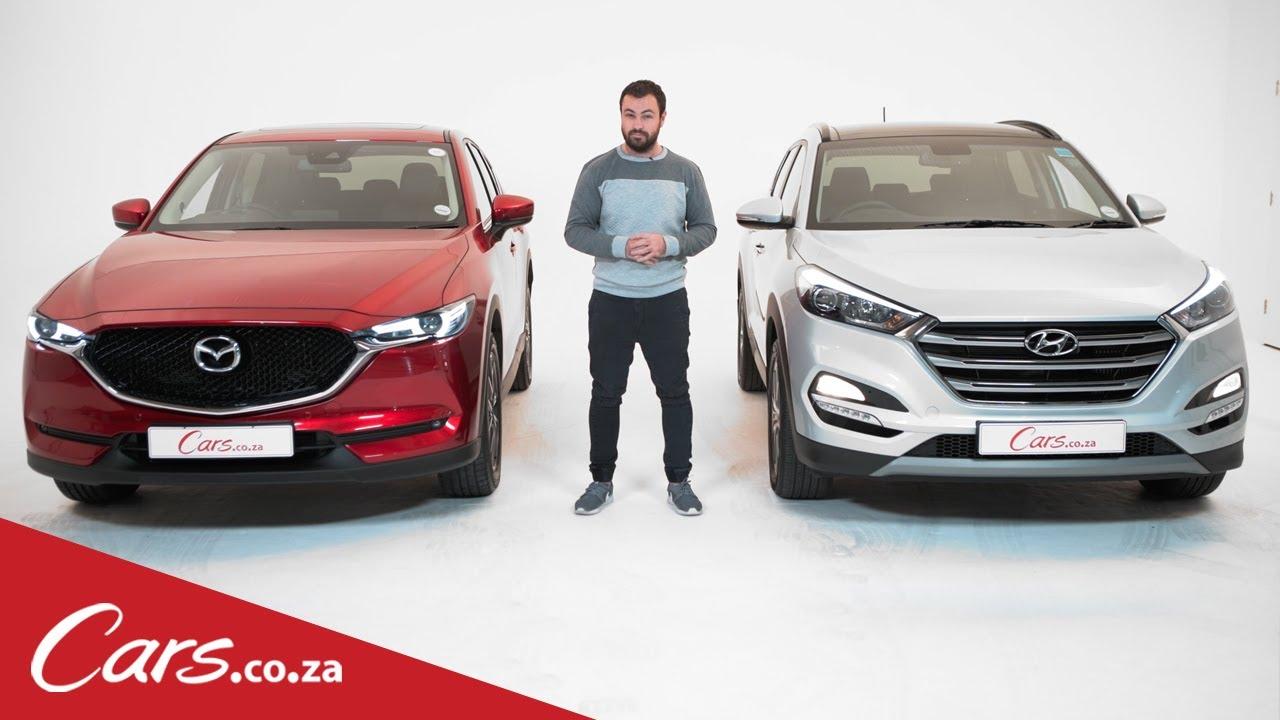 2017 Mazda Cx 5 Vs Hyundai Tucson In Depth Review And Comparison