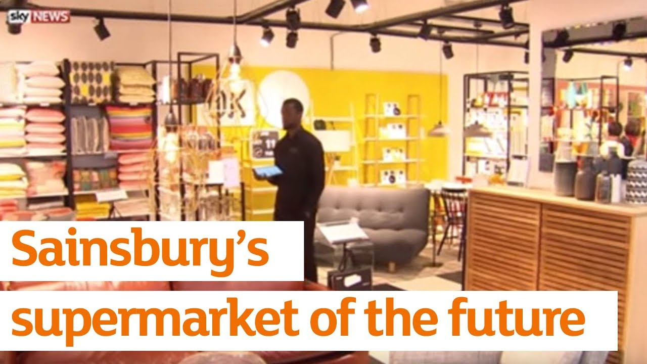 sainsbury s supermarket of the future sainsbury s youtube