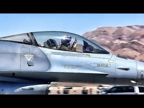 F-16 Fighting Falcons Shaw AFB • Red Flag Nellis