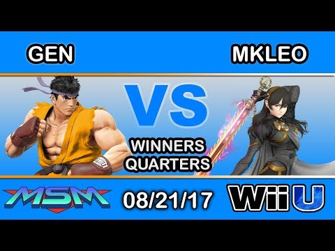 MSM 110 - Ho3K | Gen (Ryu) Vs. Fox MVG | MkLeo (Corrin) Winners Quarters