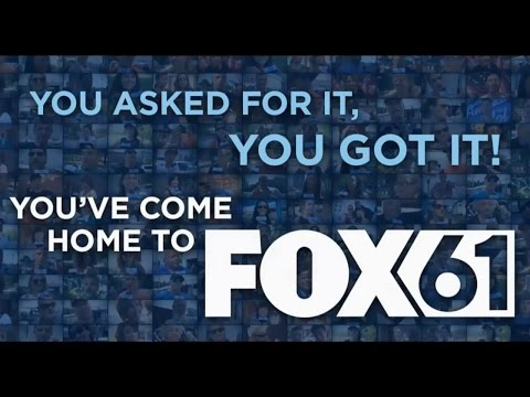 WTIC-TV FOX CT Rebrands Back to FOX 61 - Announcement