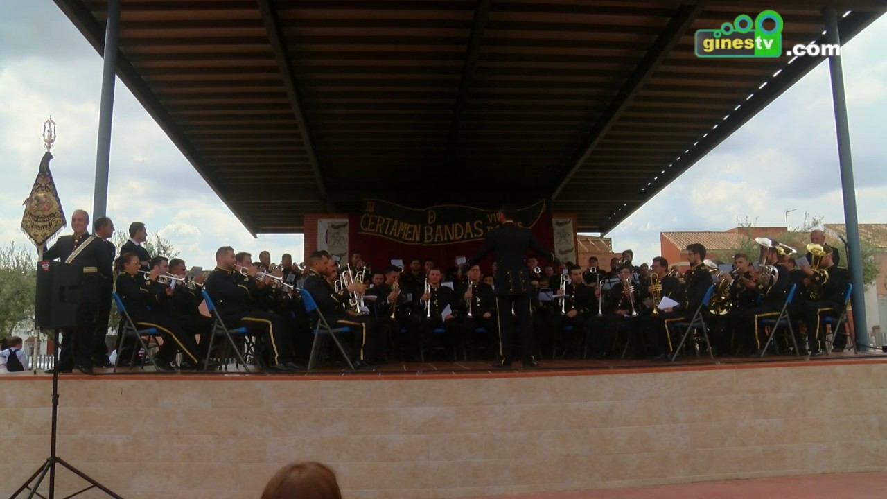 El Parque Municipal 'Concejala Dolores Camino' acogió el III Certamen de Bandas 'Villa de Gines'