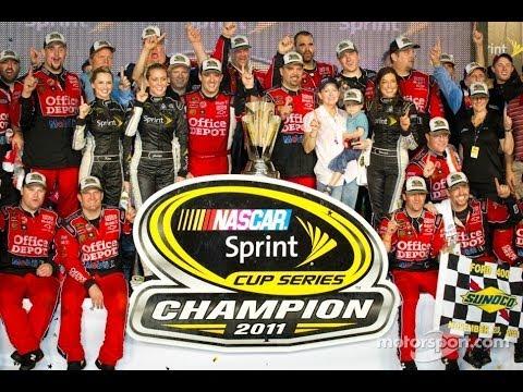 2011 NASCAR Tony Stewart Chase Highlights