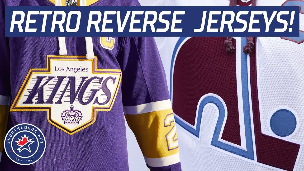 Nhl Adidas Unveil Reverse Retro Jerseys For All 31 Teams Sportslogos Net News