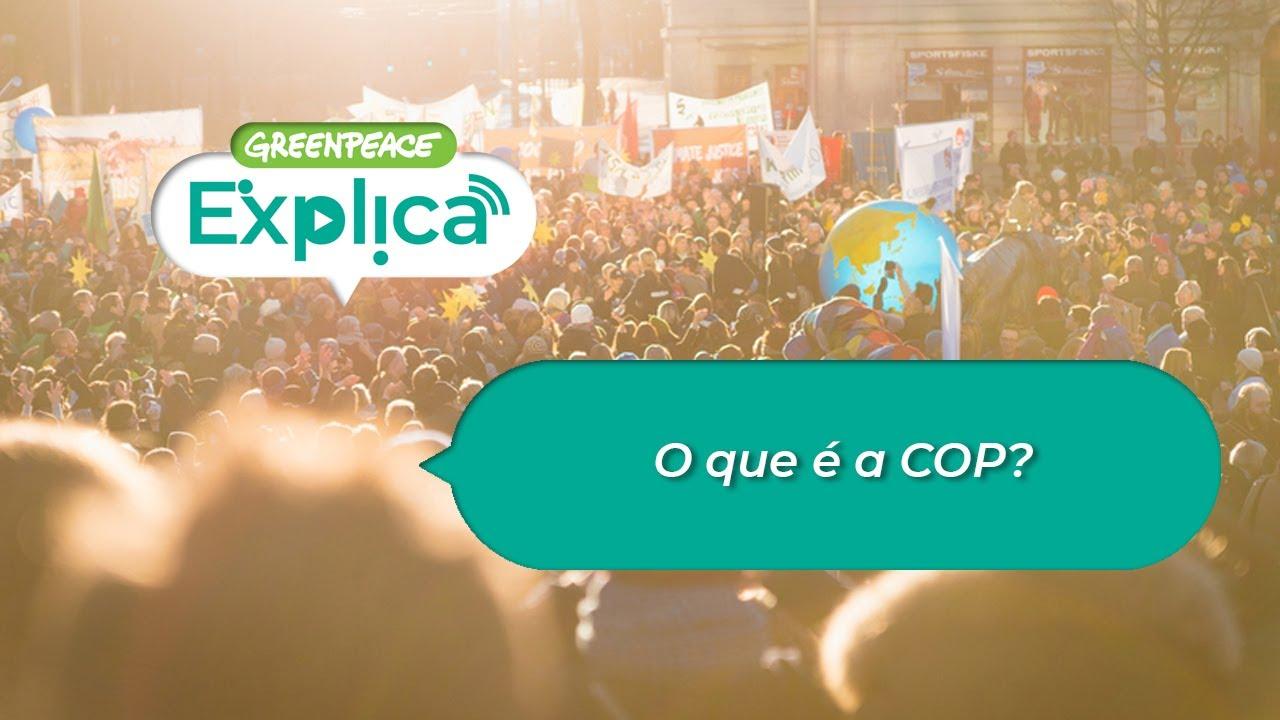 O que é a COP? - Greenpeace Explica