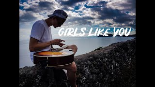 (Maroon5) Girls Like You - Lap Tapp...