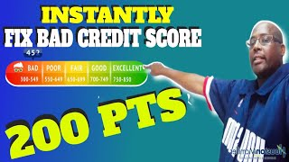 Credit Score Increase 2021: How To Fix And Instantly Increase Bad Credit Score 200PTS?