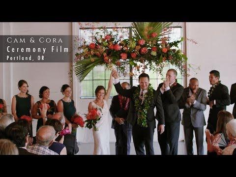 Ceremony Film: Cam & Cora - Portland, OR
