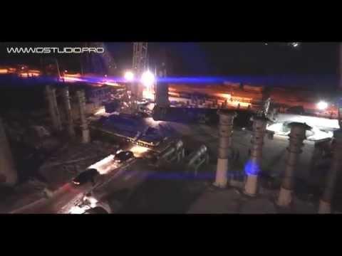 Комсомольск-на-Амуре. НефтеПерерабатывающий Завод. Монтаж самого тяжелого реактора в России