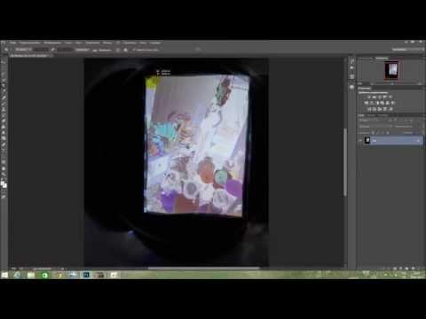 обработка цветного негатива в программе Photoshop.   color negative processing in Photoshop
