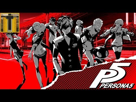 [55] PERSONA 5-  May I have your ID badge please?