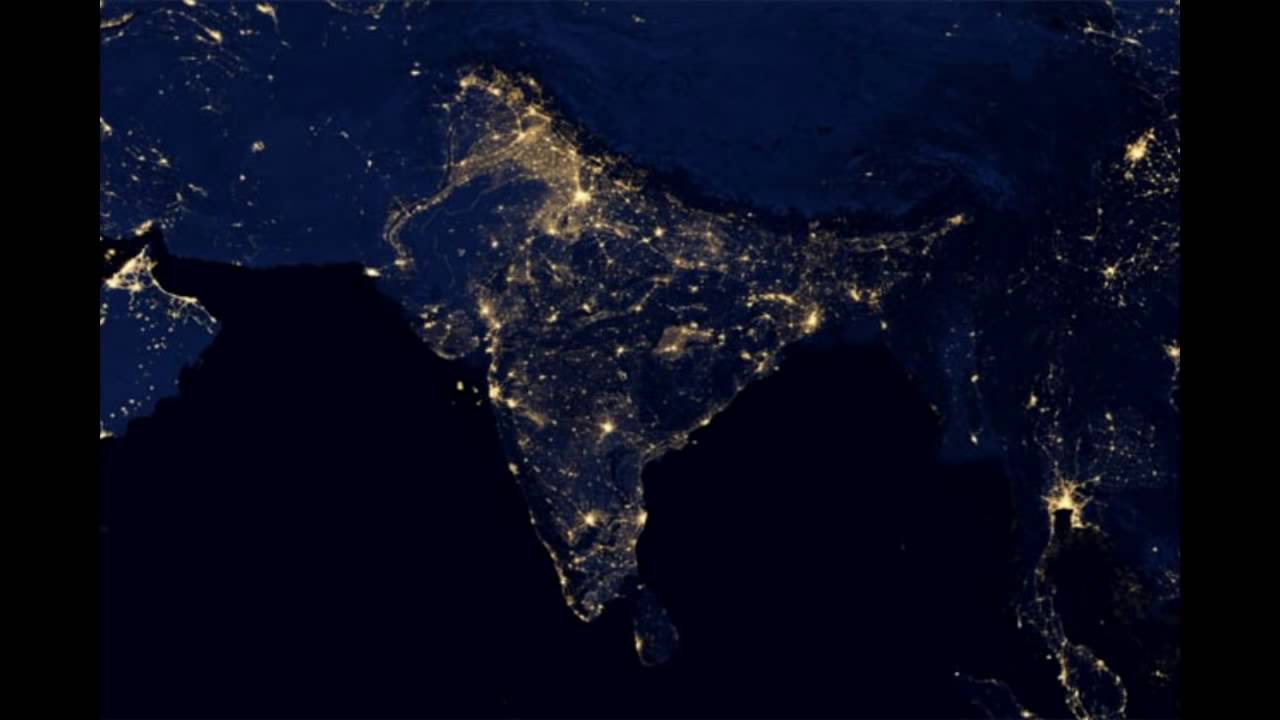 How Do Satellite View Of India On Diwali Night 2016 Youtube