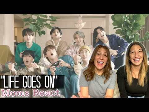 MOMS REACT - BTS 'Life Goes On' Official MV Reaction First Watch