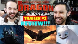 HOW TO TRAIN YOUR DRAGON: THE HIDDEN WORLD | Official TRAILER 2 - REVIEW!!!