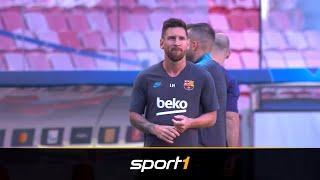 Lionel Messi stocksauer nach scharfer Kritik  | SPORT1 - DER TAG