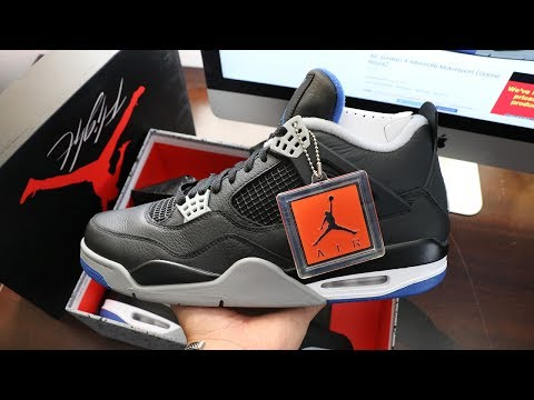 Air Jordan 4 Alternate Motorsport 2017 First Thoughts!!