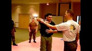 Steve Tarani Teaches Knife Disarm With A Karambit