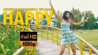 Pharrell Williams - HAPPY PARADISE POKHARA (NEPAL) HD